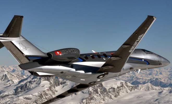 Легкий самолет «Pilatus PC24» уже в этом году введут в эксплуатацию