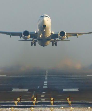 Пассажиропоток авиакомпаний из Украины по итогам января вырос на 57.6%