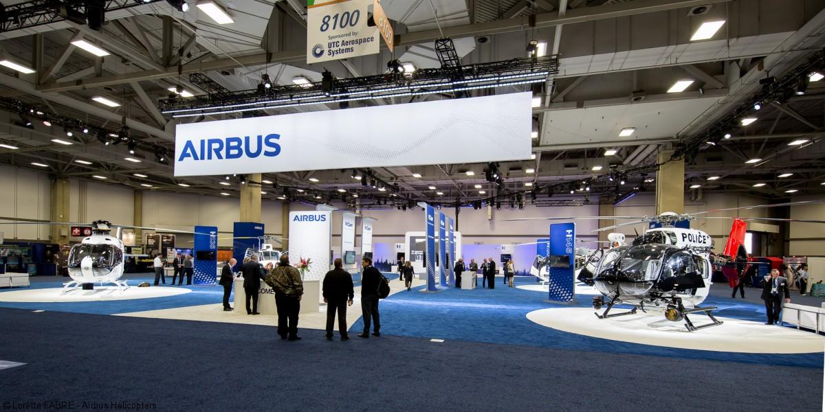 Международная авиационная выставка HELI EXPO 2018 в США